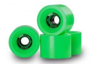 Walzen C.T.D. 70 mm longboard wheels, 78a (Green)