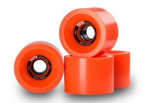 Walzen C.T.D. 70 mm longboard wheels, 78a (Orange)