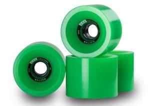 Walzen C.T.D. 74 mm longboard wheels, 78a (Green)