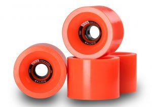 Walzen C.T.D. 74 mm longboard wheels, 78a (Orange)