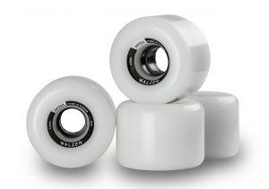 Walzen Insul 64 mm longboard wheels, 78a (Clear-White)