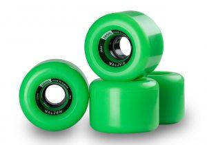 Walzen Insul 64 mm longboard wheels, 78a (Green)