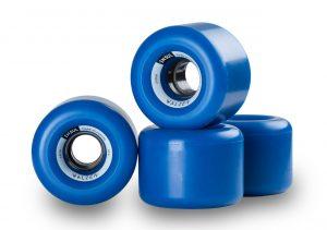 Walzen Insul 64 mm longboard wheels, 82a (Blue)