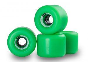 Walzen Insul 70 mm longboard wheels, 78a (Green)