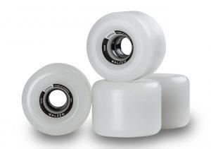 Walzen Insul 70 mm longboard wheels, 80a (Clear-White)
