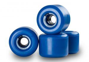 Walzen Insul 70 mm longboard wheels, 82a (Blue)