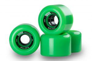 Walzen Kiosk 60mm longboard wheels, 78a (Green)
