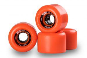 Walzen Kiosk 60mm longboard wheels, 78a (Orange)
