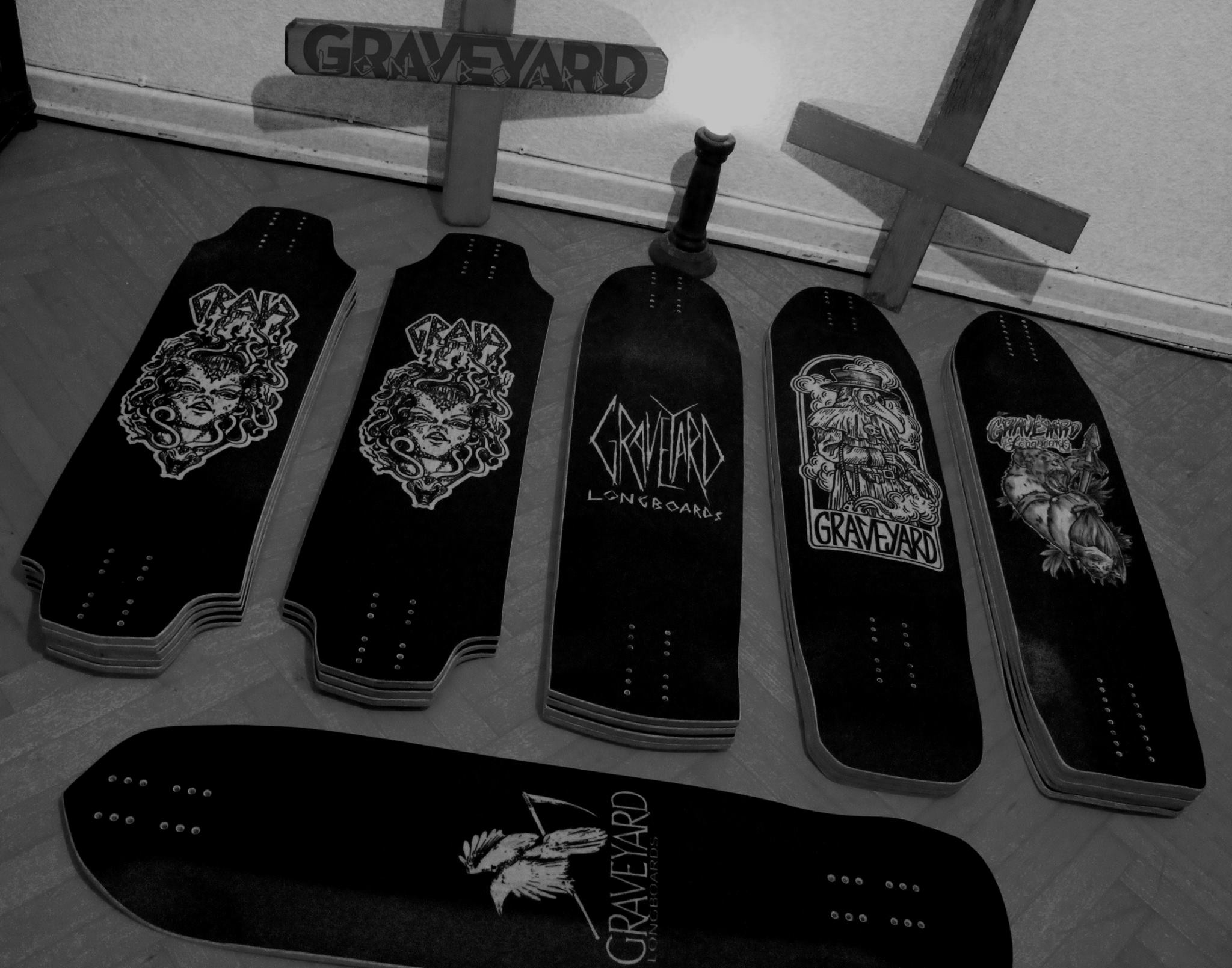 Ready to leave the Graveyard. Photo by Graveyard Longboards.