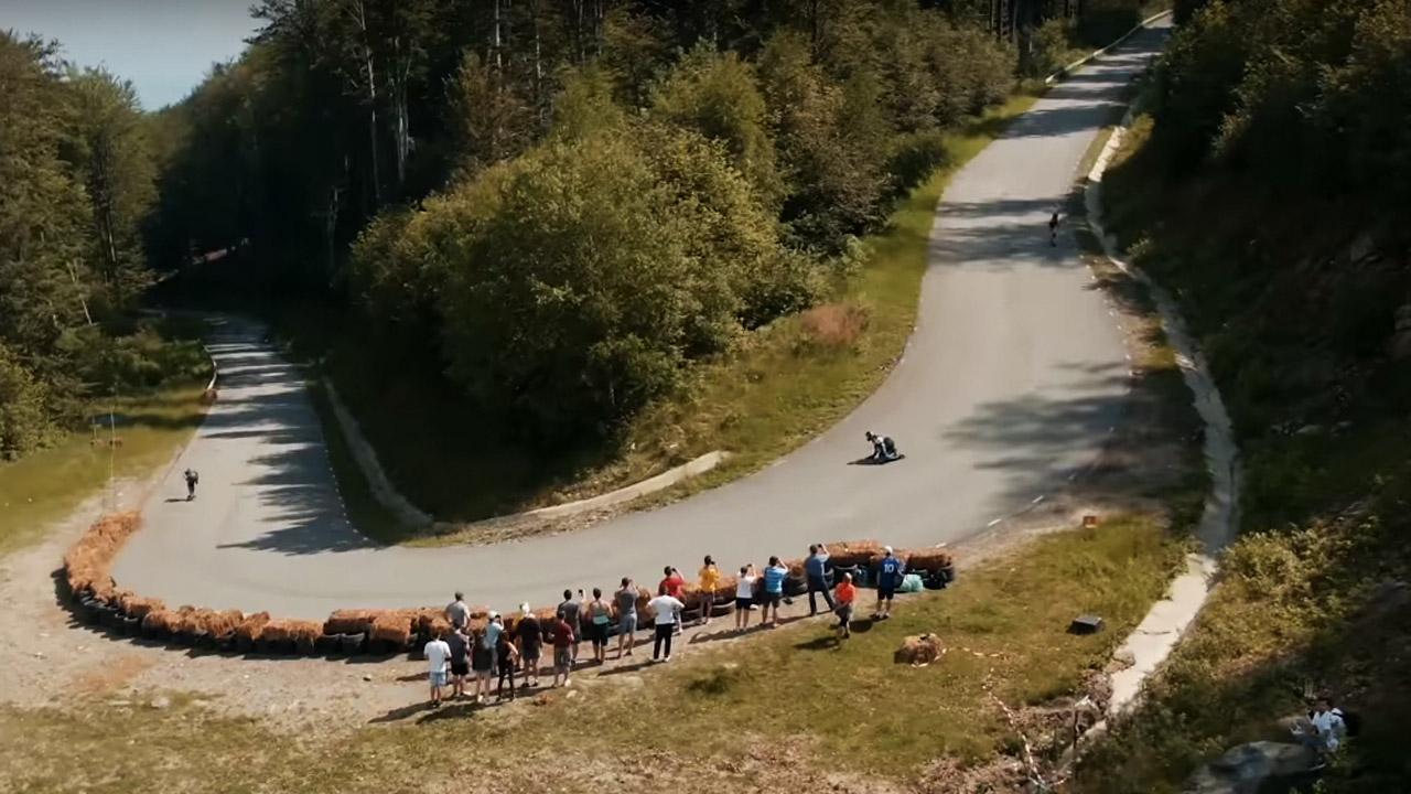 Transylvania Downhill by Devastation Longboard Crew
