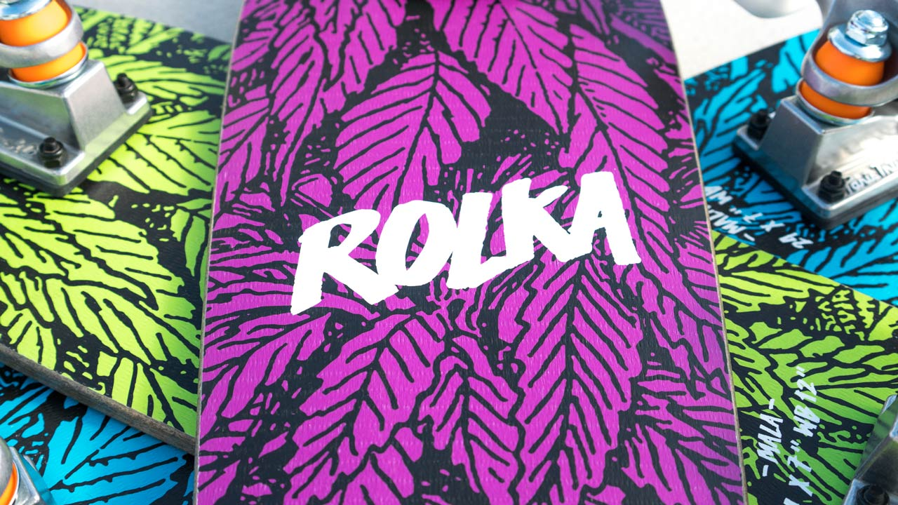 Rolkaz Collective - Hemp Skateboards