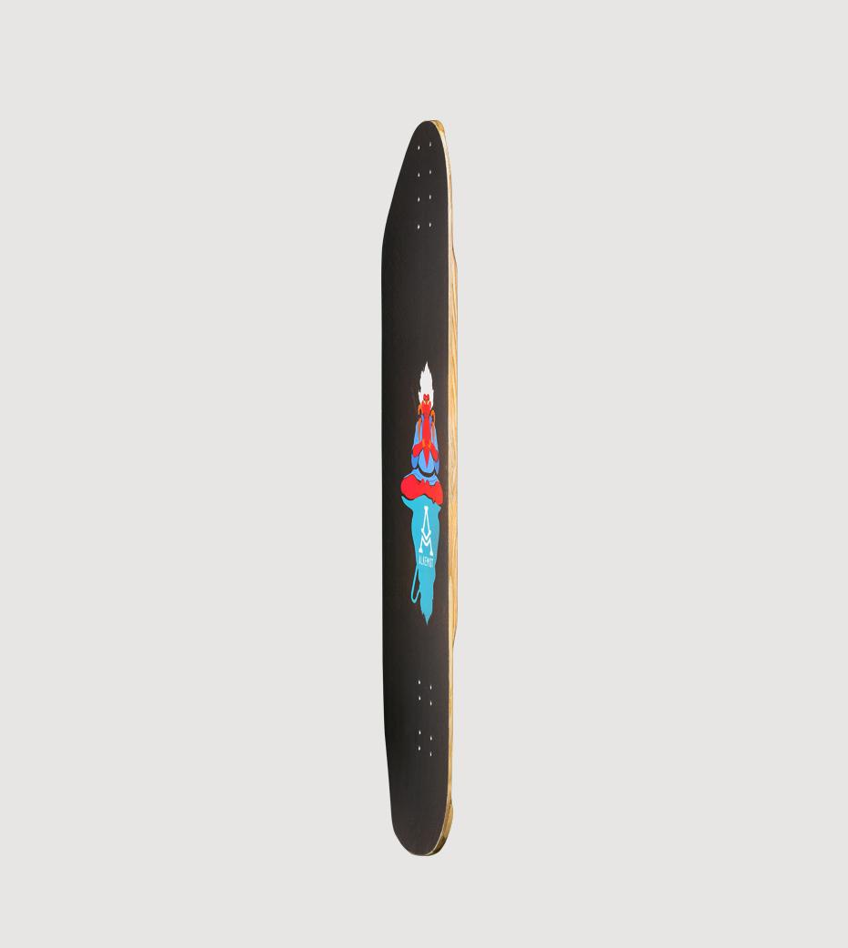 Alkemist Sweet Smoke longboard deck