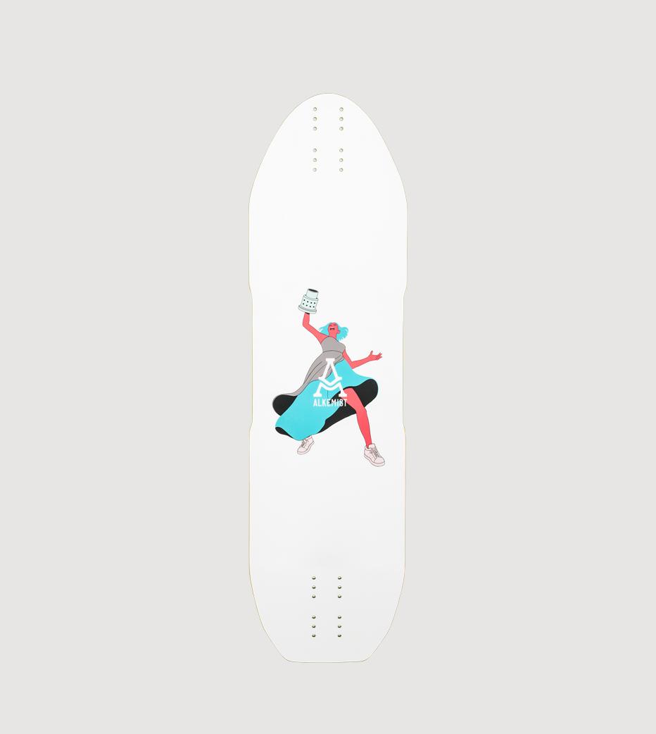 Alkemist Valkyrie longboard deck