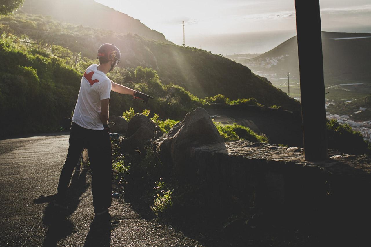 Simon Lechner - steepthroatrip4two. Photo by Felix Pirker.