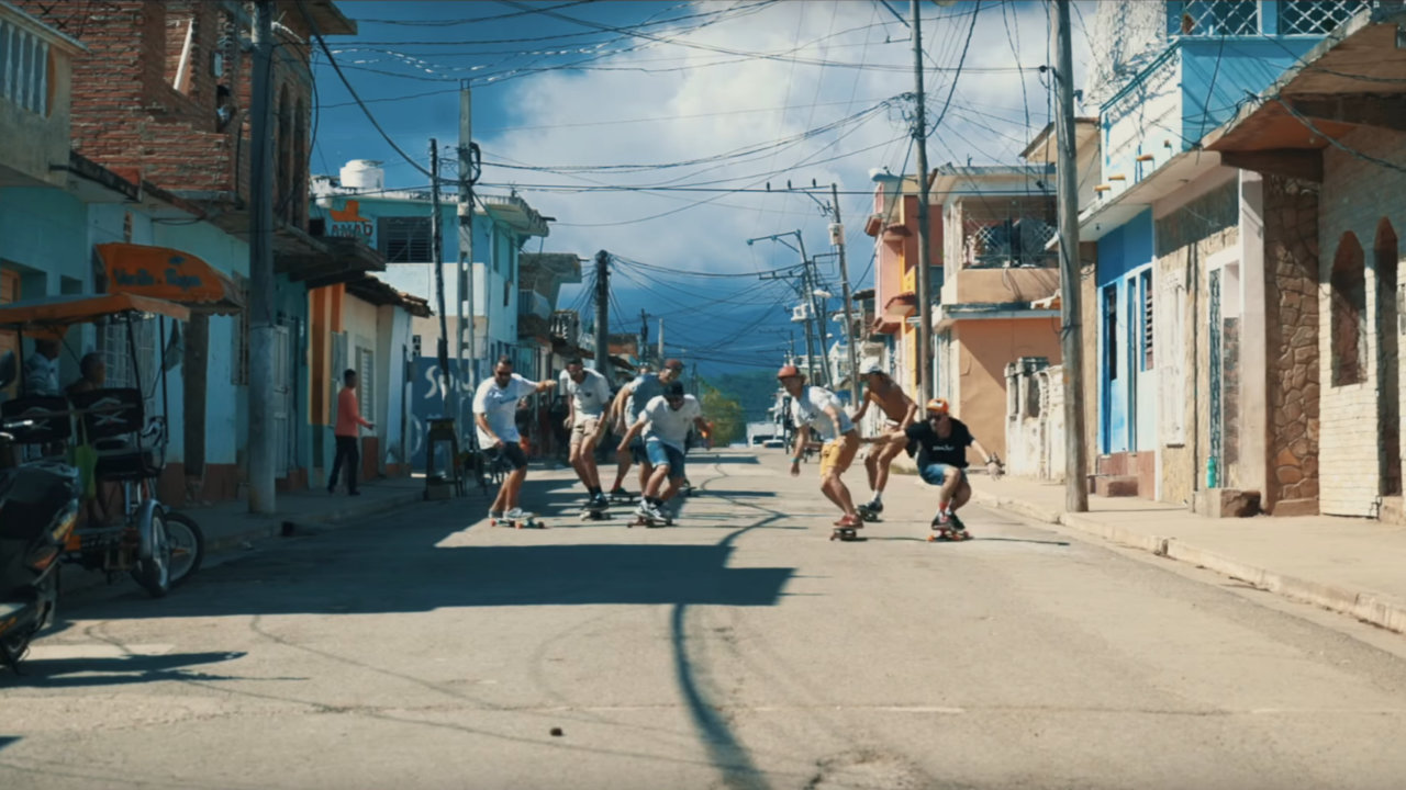 Longboard Trip to Cuba by Riding Adventures