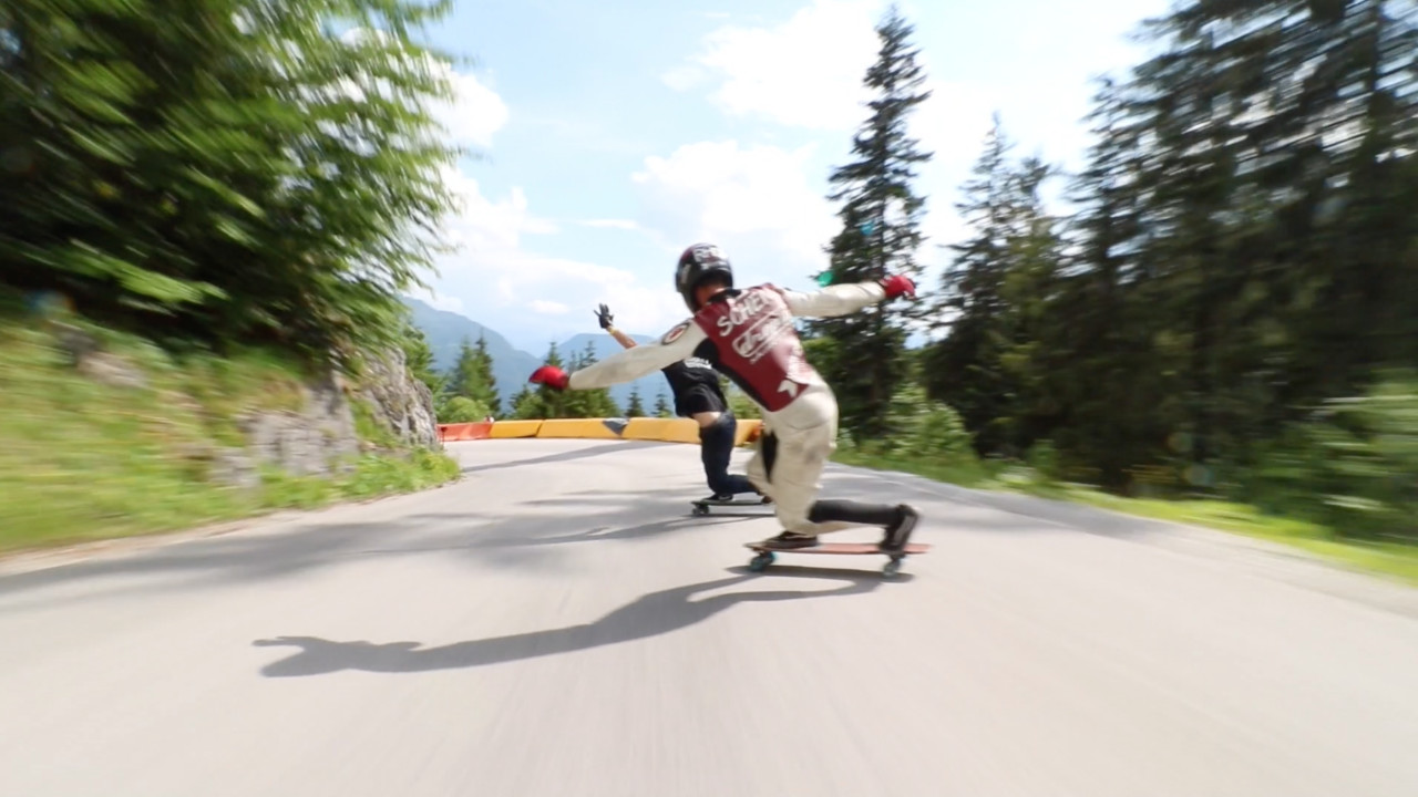 Alpenrauschen 2018: Dominic Schenk & Ian Freire | ROCKET Longboards